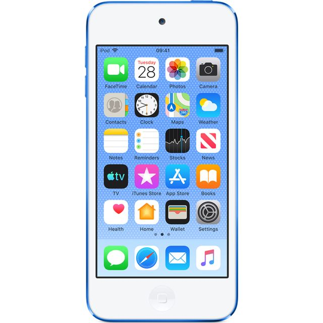 Apple iPod Touch 128GB - Blue - MVJ32BT/A - 1