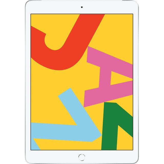 """Apple iPad 10.2"""" 128GB WiFi + Cellular [7th Generation] - Silver"""