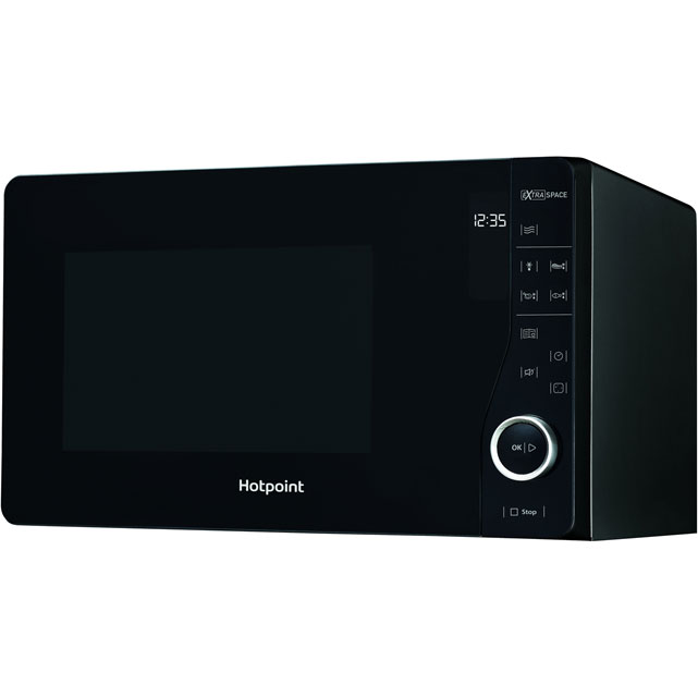 Hotpoint Ultimate Collection MWH2621MB 25 Litre Microwave - Black - MWH2621MB_BK - 1