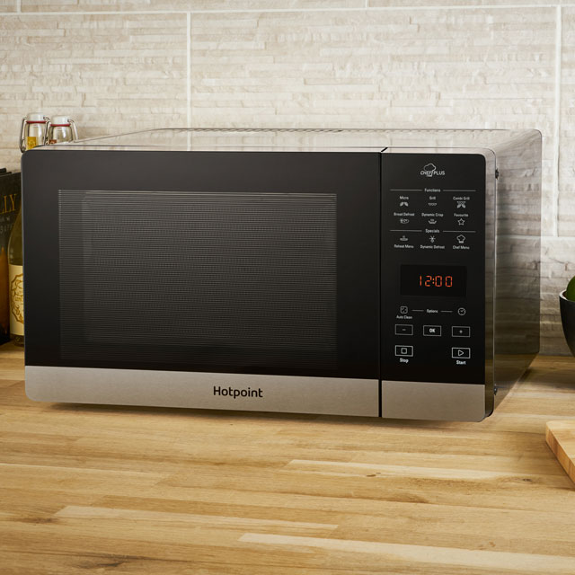 Hotpoint CHEFPLUS MWH27321B 25 Litre Microwave