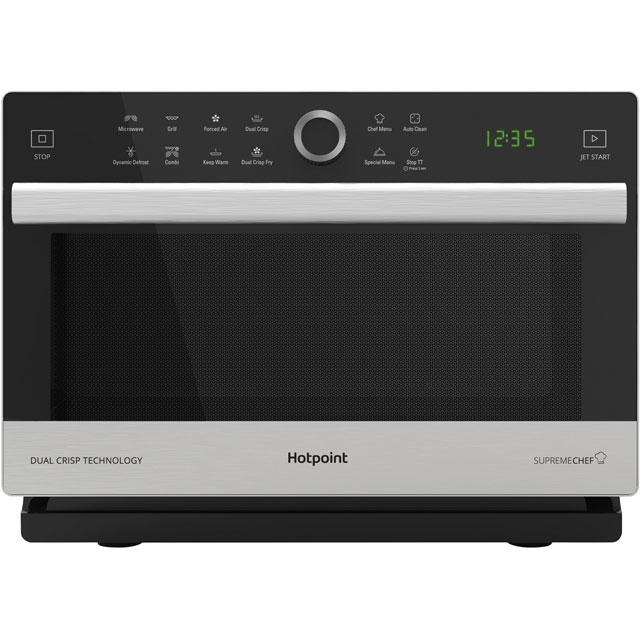 Hotpoint SUPREMECHEF MWH338SX 33 Litre Combination Microwave Oven - Stainless Steel
