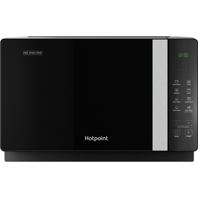 Hotpoint FREE SPACE CRISP MWHF206B 20 Litre Microwave With Grill - Black - MWHF206B_BK - 1
