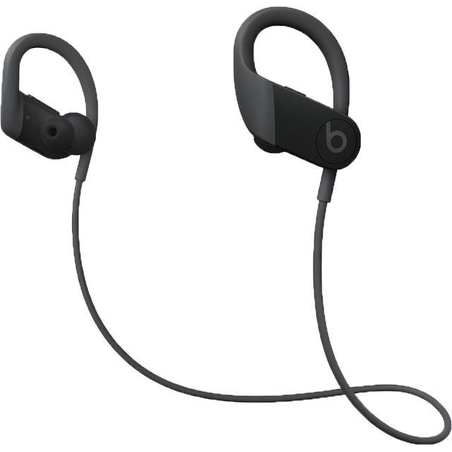 Image of Beats Powerbeats In-Ear Water Resistant Wireless Bluetooth Headphones - Black