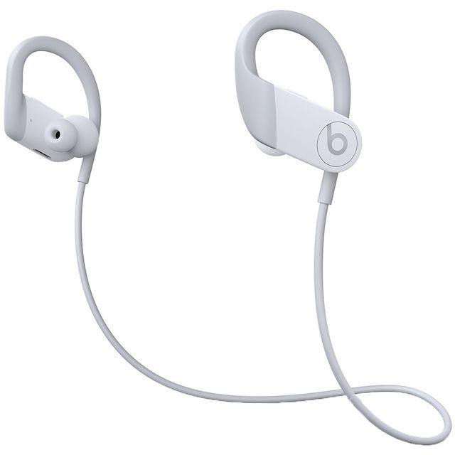 Image of Beats Powerbeats In-Ear Water Resistant Wireless Bluetooth Headphones - White