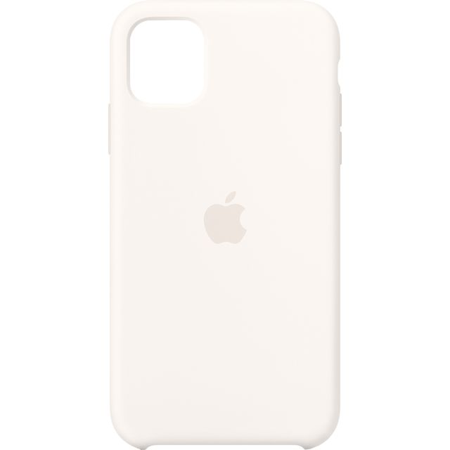Apple iPhone 11 Silicone Case - Black for iPhone 11 - White