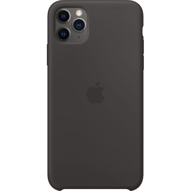 Apple iPhone 11 Pro Max Silicone Case - Black for iPhone 11 Pro Max - Black