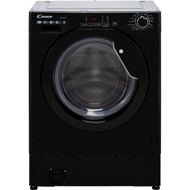 Candy CBD485D1BBE Integrated 8Kg / 5Kg Washer Dryer with 1400 rpm - Black - E Rated