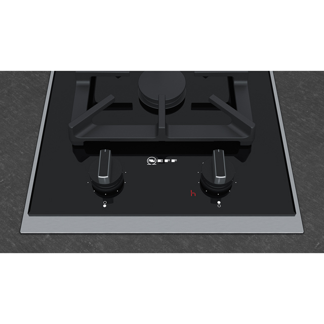 NEFF N90 N23TA29N0 Built In Gas Hob - Black - N23TA29N0_BK - 3