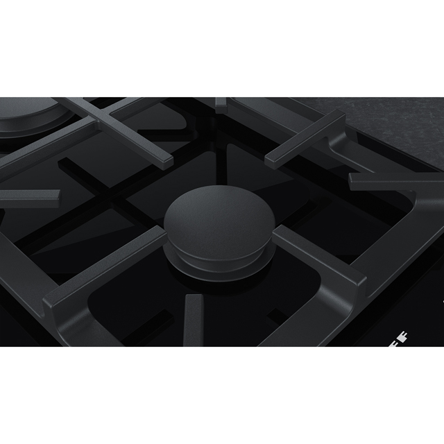 NEFF N90 N23TA29N0 Built In Gas Hob - Black - N23TA29N0_BK - 5