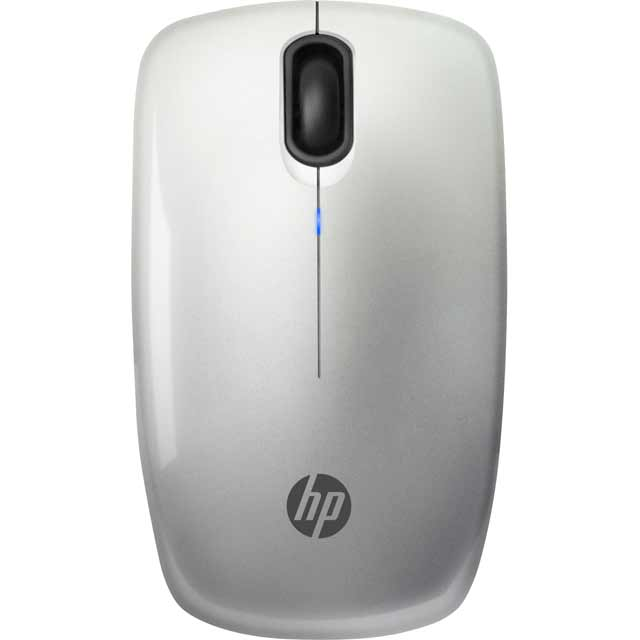 HP Z3200 Wireless USB Optical Mouse - Silver