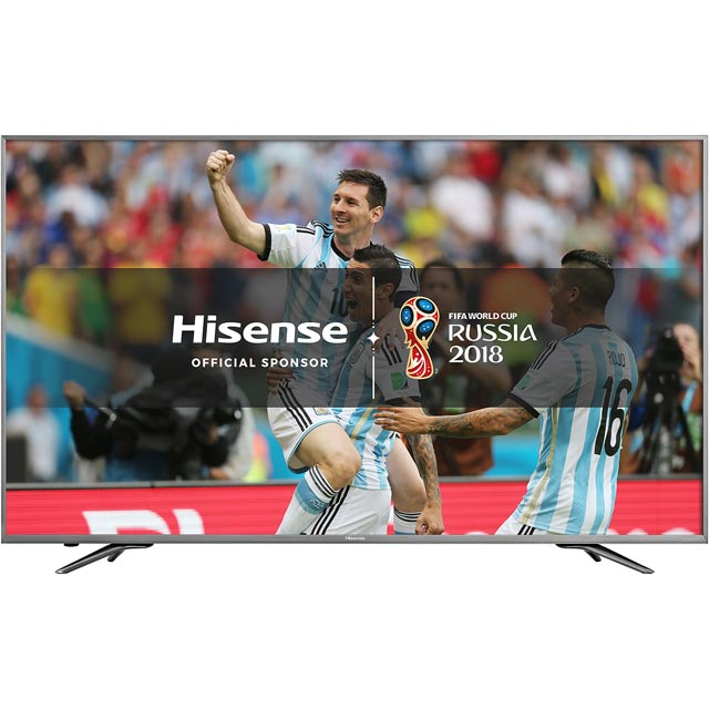 "Hisense H50N6800 50"" Smart 4K Ultra HD Certified TV with HDR - Dark Grey - [B Rated]"