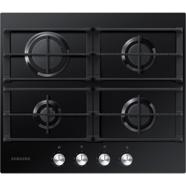 Samsung Prezio NA64H3000AK 60cm Gas Hob - Black / Glass
