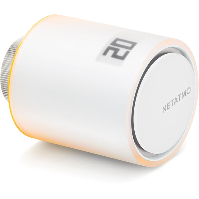 Netatmo Smart Radiator Valve NAV-UK Smart Radiator Valve in White