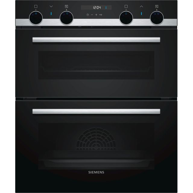 Siemens IQ-500 NB535ABS0B Built Under Double Oven - Stainless Steel - NB535ABS0B_SS - 1