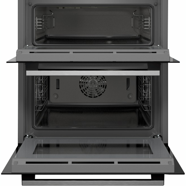 Siemens IQ-500 NB535ABS0B Built Under Double Oven - Stainless Steel - NB535ABS0B_SS - 4