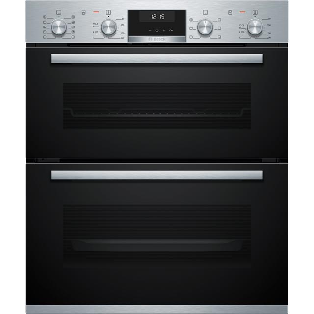 Bosch Serie 6 NBA5570S0B Built Under Double Oven - Stainless Steel