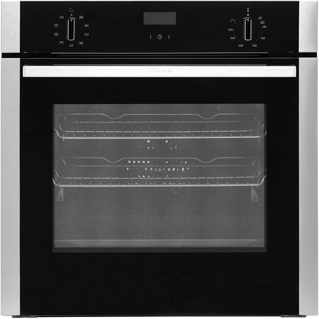 NEFF N50 B1ACE4HN0B Built In Electric Single Oven - Stainless Steel - B1ACE4HN0B_SS - 1