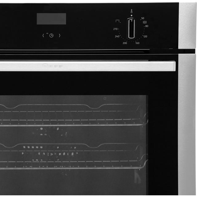 NEFF N50 B1ACE4HN0B Built In Electric Single Oven - Stainless Steel - B1ACE4HN0B_SS - 4
