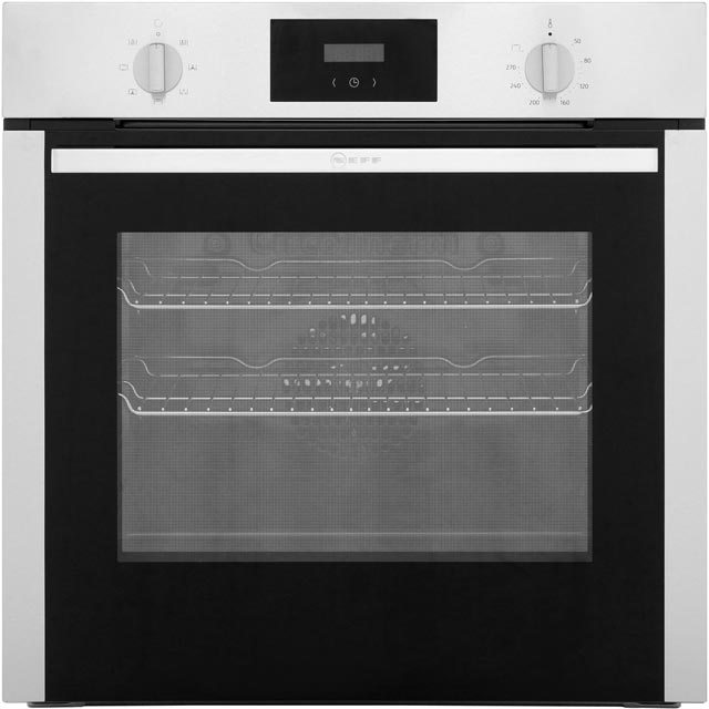 NEFF B1DCC0AN0B Built In Electric Single Oven - Stainless Steel - B1DCC0AN0B_SS - 1