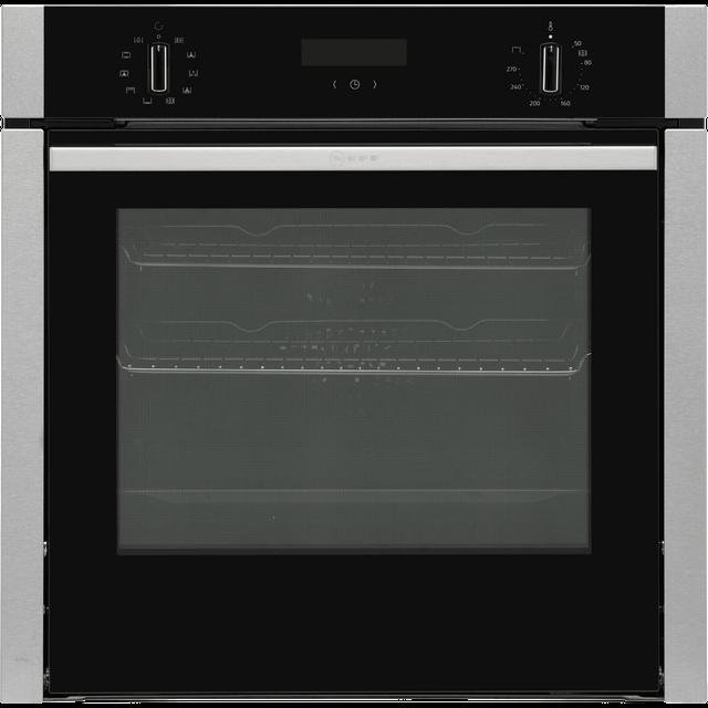 NEFF N50 B3ACE4HN0B Slide&Hide Electric Oven – Stainless Steel, Stainless Steel