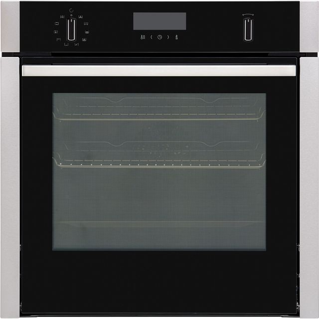 NEFF N50 Slide&Hide B6ACH7HN0B Built In Electric Single Oven - Stainless Steel - B6ACH7HN0B_SS - 1