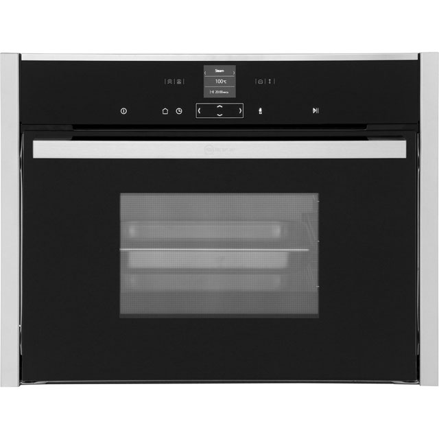 NEFF N70 C17DR02N0B Built In Steam Oven - Stainless Steel - C17DR02N0B_SS - 1