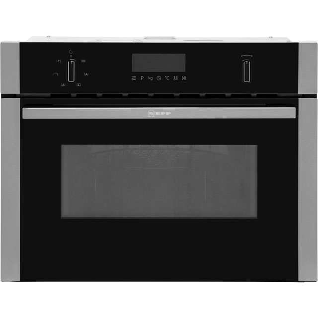 NEFF N50 C1AMG83N0B Built In Combination Microwave Oven - Stainless Steel - C1AMG83N0B_SS - 1