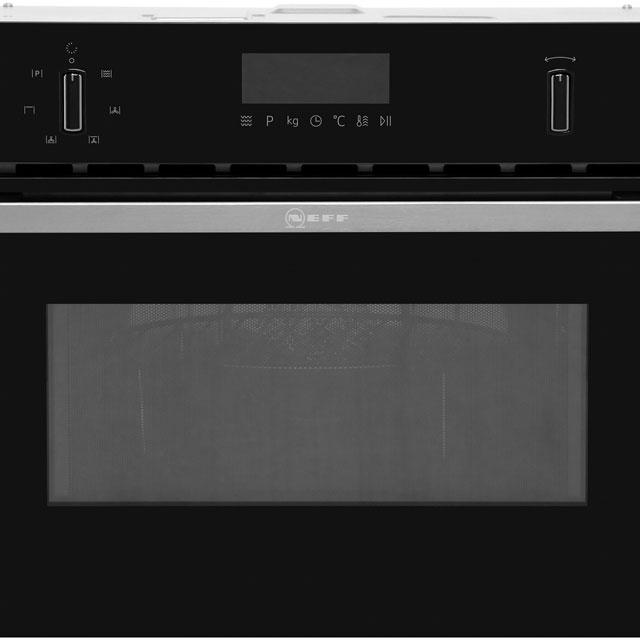 NEFF N50 C1AMG83N0B Built In Combination Microwave Oven - Stainless Steel - C1AMG83N0B_SS - 4