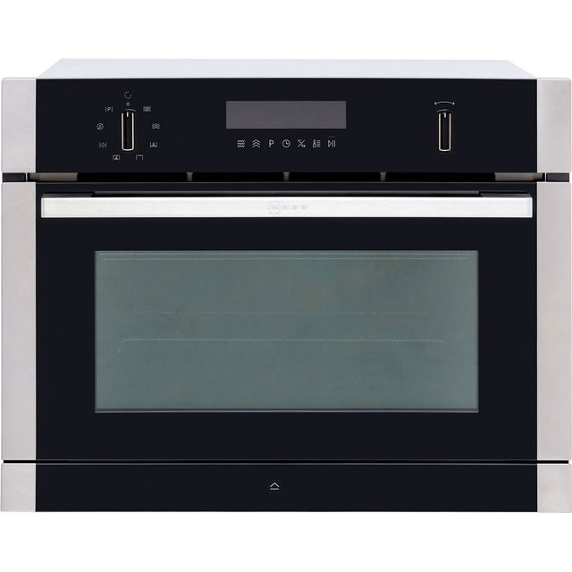 NEFF N50 C1APG64N0B Built In Combination Microwave Oven - Stainless Steel - C1APG64N0B_SS - 1