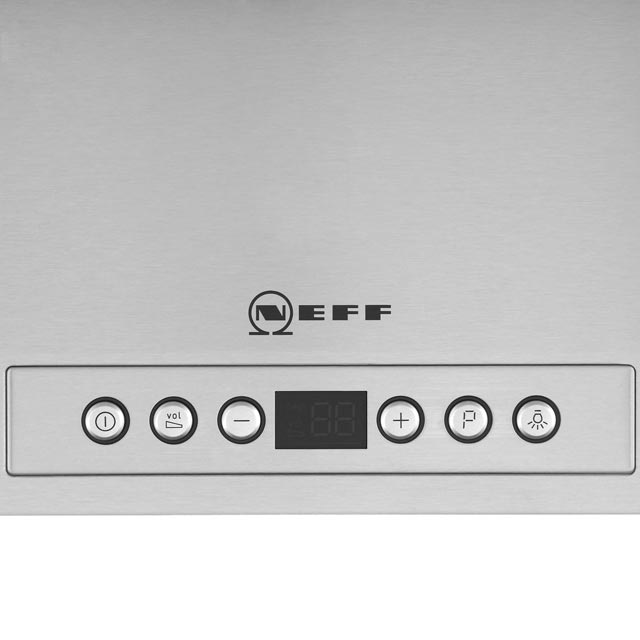 NEFF N70 D49ML54N0B Built In Integrated Cooker Hood - Stainless Steel - D49ML54N0B_SS - 3