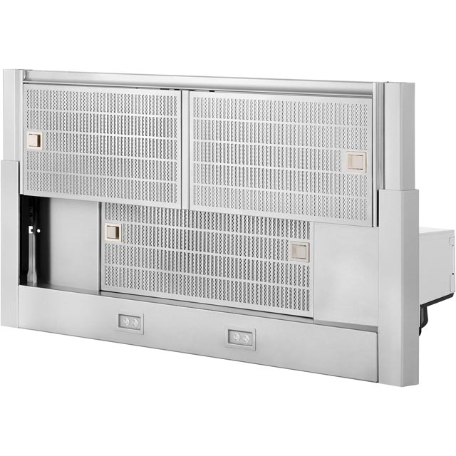 NEFF N70 D49ML54N0B Built In Integrated Cooker Hood - Stainless Steel - D49ML54N0B_SS - 5