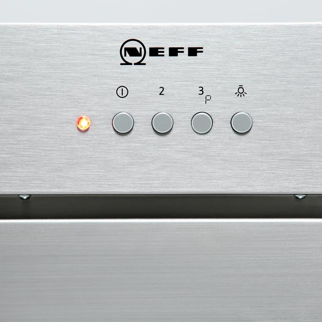 NEFF N50 D57MH56N0B Built In Canopy Cooker Hood - Stainless Steel - D57MH56N0B_SS - 3