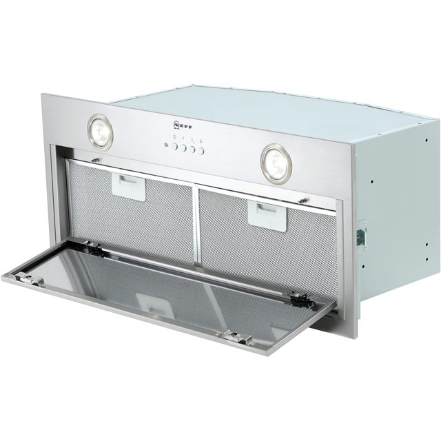 NEFF N50 D57MH56N0B Built In Canopy Cooker Hood - Stainless Steel - D57MH56N0B_SS - 4