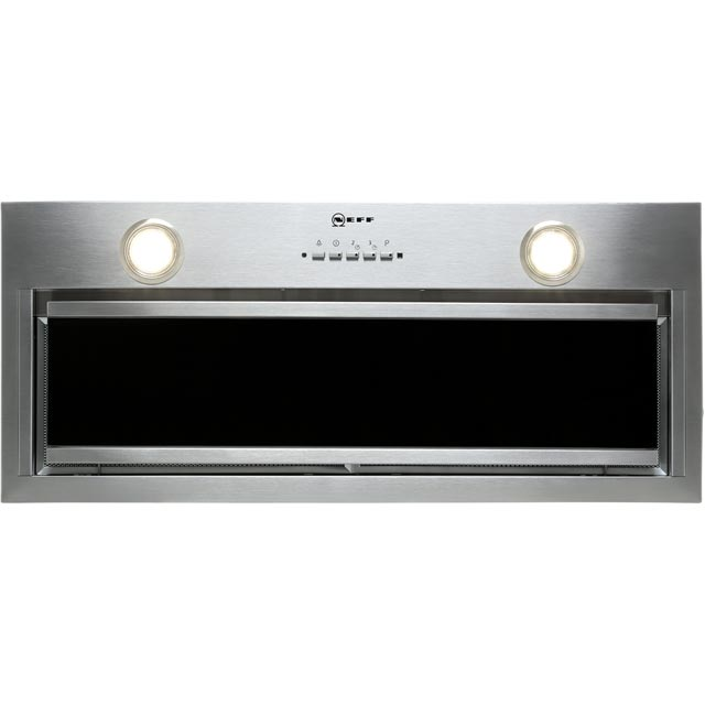 NEFF N90 D57ML67N0B 70 cm Canopy Cooker Hood - Stainless Steel - A Rated - D57ML67N0B_SS - 1