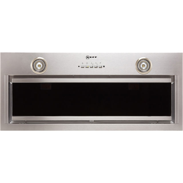 NEFF N90 D57ML67N1B Built In Canopy Cooker Hood - Stainless Steel - D57ML67N1B_SS - 1