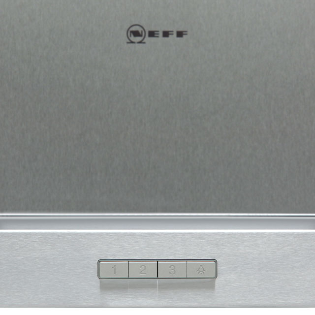 NEFF N30 D62BBC0N0B Built In Chimney Cooker Hood - Stainless Steel - D62BBC0N0B_SS - 3