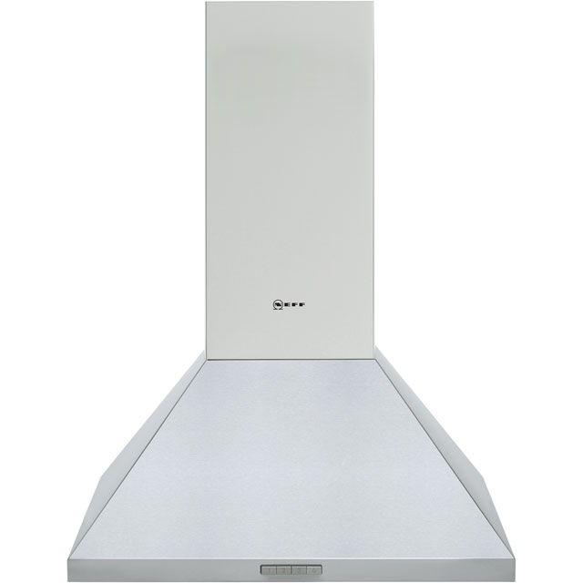 NEFF N30 D62PBC0N0B 60 cm Chimney Cooker Hood - Stainless Steel - C Rated - D62PBC0N0B_SS - 1