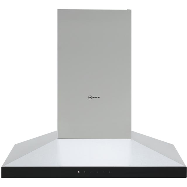 NEFF N50 D64QFM1N0B 60 cm Chimney Cooker Hood - Stainless Steel - A Rated - D64QFM1N0B_SS - 1