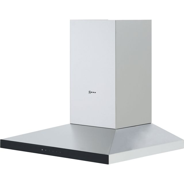 NEFF N50 D64QFM1N0B Built In Chimney Cooker Hood - Stainless Steel - D64QFM1N0B_SS - 3