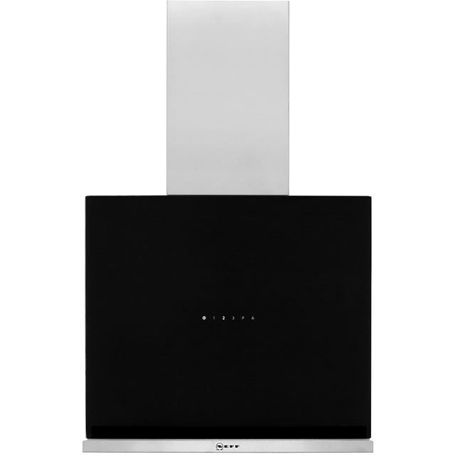 NEFF N70 D65FRM1S0B 59 cm Chimney Cooker Hood - Black - A Rated - D65FRM1S0B_BK - 1