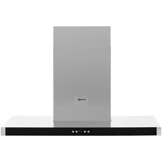 NEFF N50 D79MH52N1B 90 cm Chimney Cooker Hood - Stainless Steel - A+ Rated - D79MH52N1B_SS - 1
