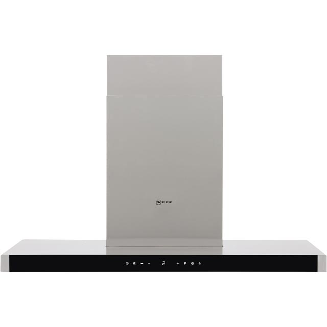 NEFF N90 90 cm Chimney Cooker Hood - Stainless Steel - A Rated
