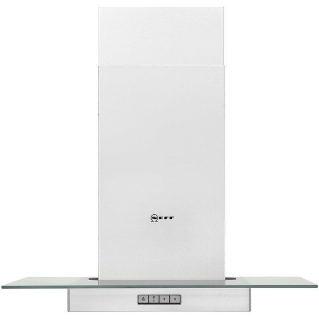 NEFF D86ER22N0B 60 cm Chimney Cooker Hood - Stainless Steel - D Rated - D86ER22N0B_SS - 1