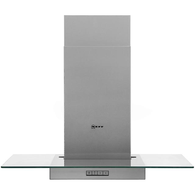 NEFF D87ER22N0B Integrated Cooker Hood in Stainless Steel / Glass