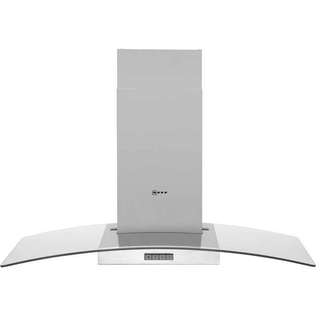 Neff D89GR22N0B 90 cm Chimney Cooker Hood - Stainless Steel / Glass