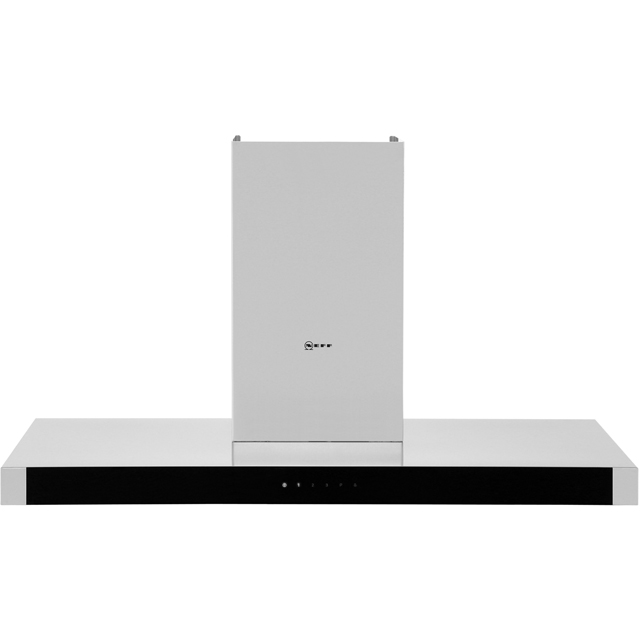 NEFF N50 D94BHM1N0B 90 cm Chimney Cooker Hood - Stainless Steel - A Rated - D94BHM1N0B_SS - 1
