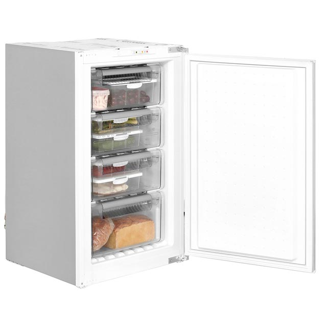 NEFF N50 Integrated Upright Freezer with Sliding Door Fixing Kit - A+ Rated