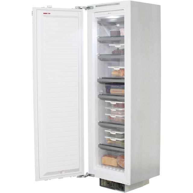 NEFF N90 Integrated Frost Free Upright Freezer with Fixed Door Fixing Kit - A+ Rated