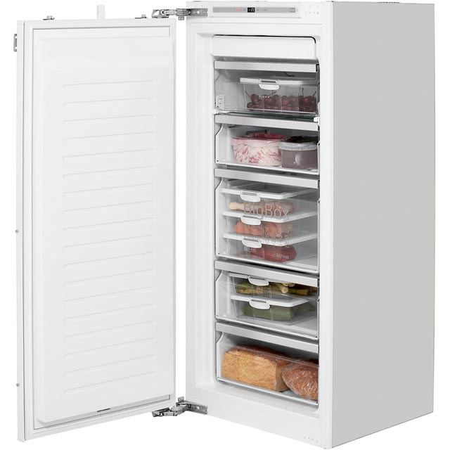 NEFF N70 GI7413E30G Integrated Frost Free Upright Freezer with Fixed Door Fixing Kit - A++ Rated - GI7413E30G_WH - 1