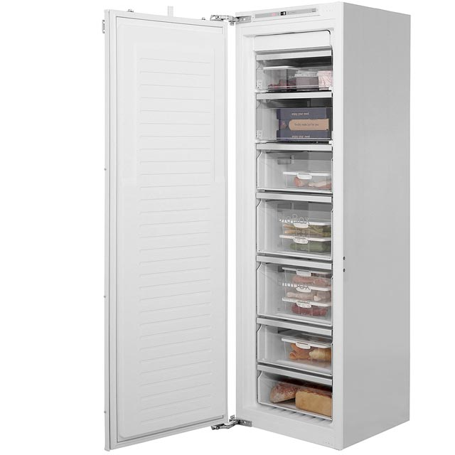 NEFF N90 GI7813E30G Integrated Frost Free Upright Freezer with Fixed Door Fixing Kit - A++ Rated - GI7813E30G_WH - 1